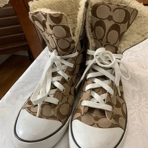 Coach sneakers/boots